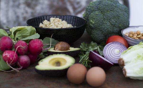Cómo crear un plato de comida sana