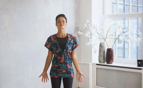 En grundande Vata Yoga-serie