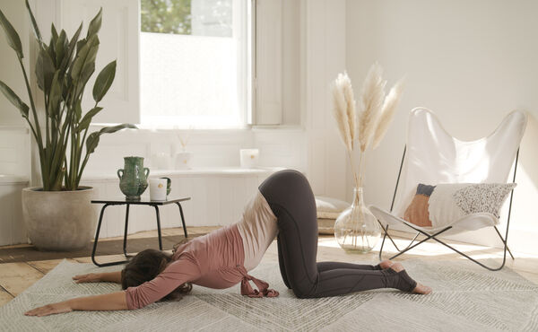 Stretch the day's tension away with this yin yoga sequence