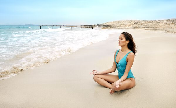Otimismo e pensamentos felizes através da meditação