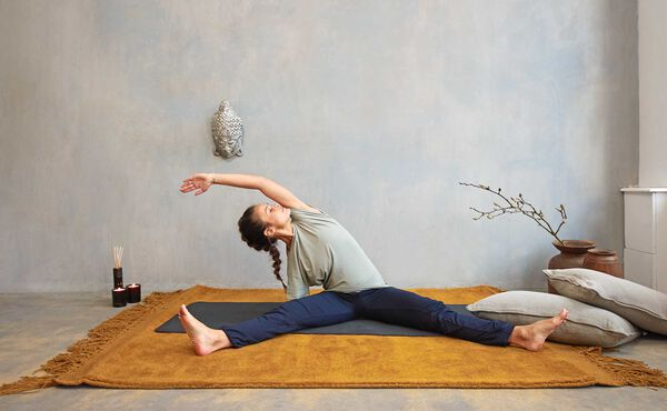 Unwind with this after work yin yoga sequence for a positive mindset