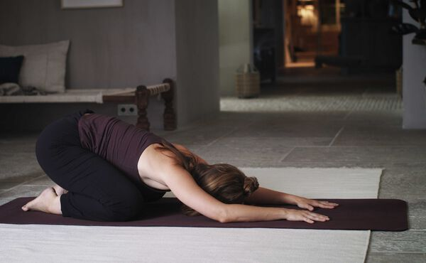 Clear and help heal your heart with this yoga practice