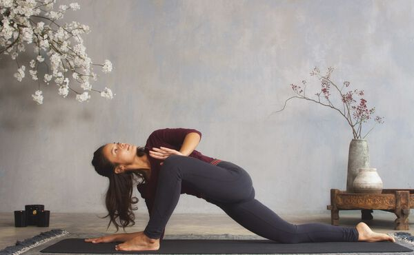Yoga warm-up sequence for winter
