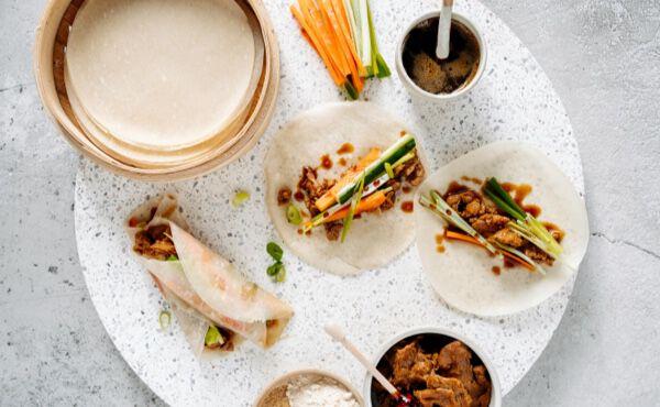 Sharing is caring: Vegan Peking Pancakes
