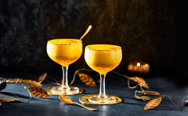 Make your own spiced eggnog with a mango twist