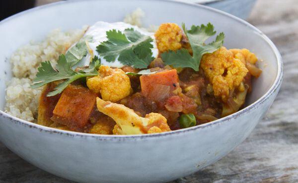 Indisch inspirierte Rezepte