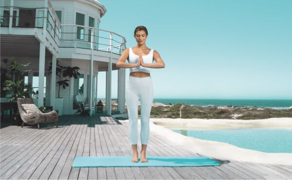 How to do an energising sun salutation, step by step