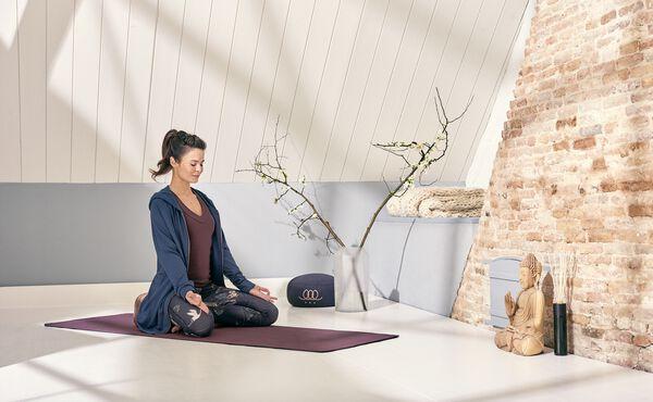 Wie Sie sich Zuhause Ihren eigenen Meditationsbereich schaffen