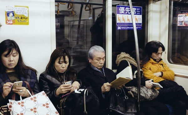 Inemuri: the art of sleeping in public