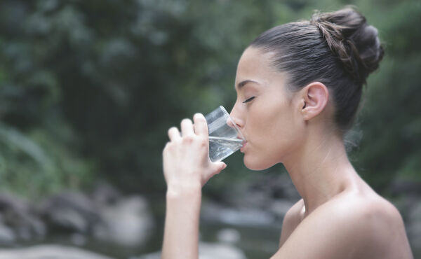 Soak up the benefits of drinking water