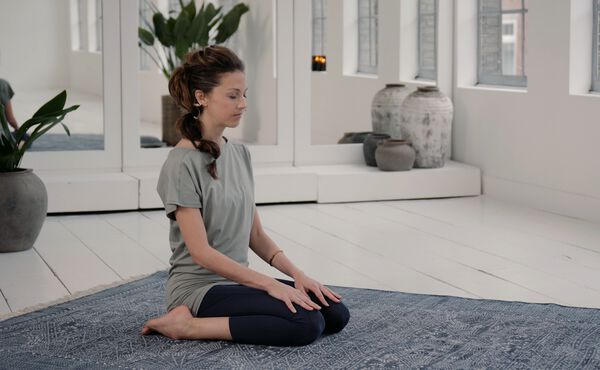 Balance yourself with this full moon yoga routine