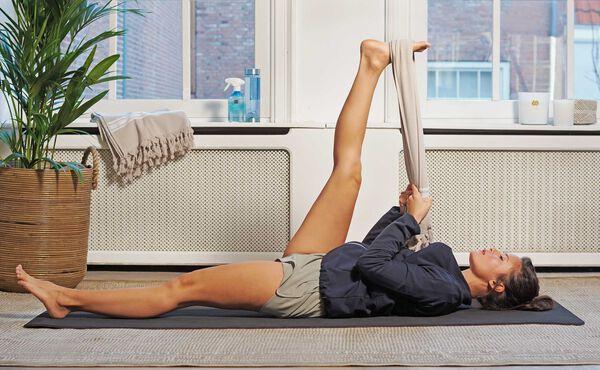 Étirez-vous avec cette séquence de yoga post-entraînement