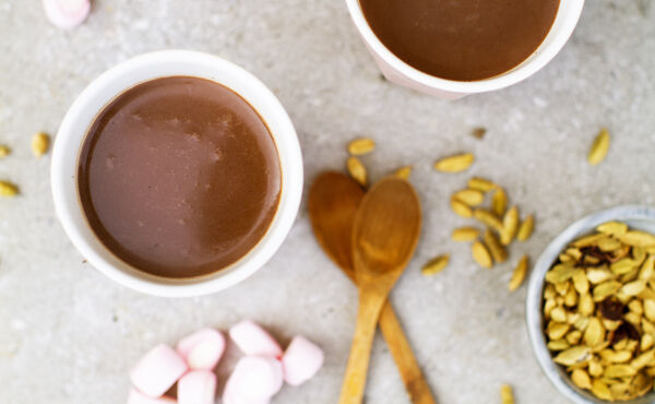 Autumn warming drinks: Ayurvedic moon milk and cardamom choco-coco