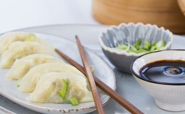 Vegetarian steamed dumplings