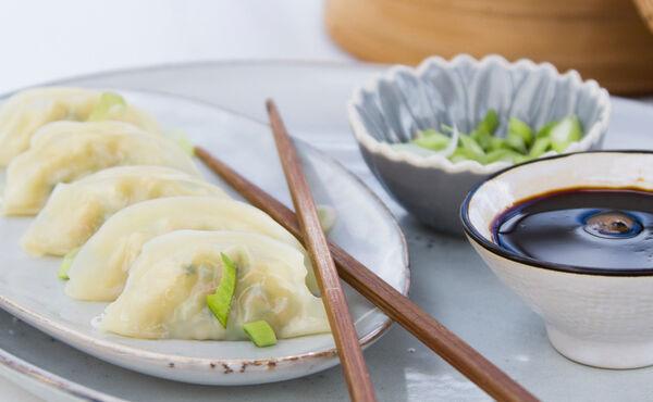 Raviolis chinois vapeur végétariens