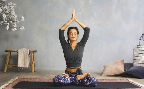 A beginner's guide to the Lotus pose