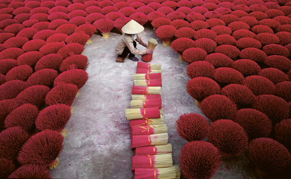 In Vietnam, incense is about more than just a pleasant scent
