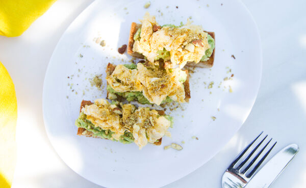 Avocado and Dukkah on Toast