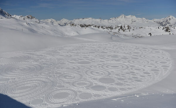 Snow artist Simon Beck on what it's like to carve out your own path