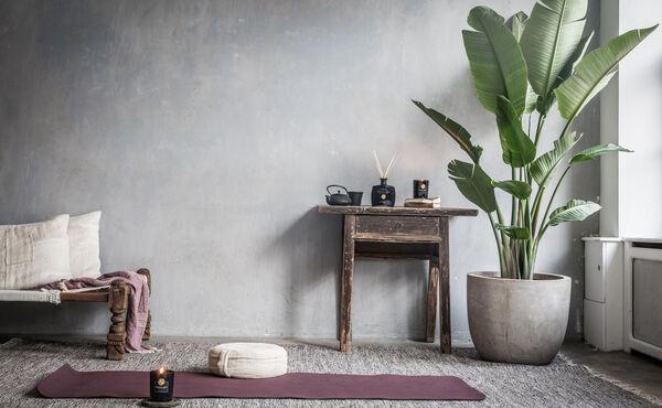 Så här skapar du en fristad för meditation i ditt hem