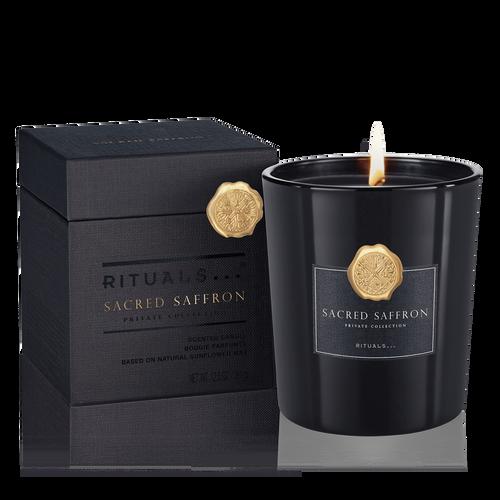 Sacred Saffron Scented Candle