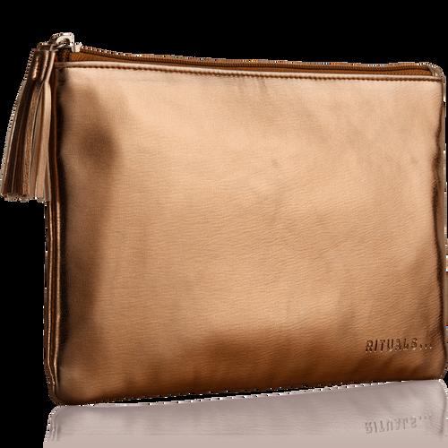 Make Up Bag - Bronze Metallic