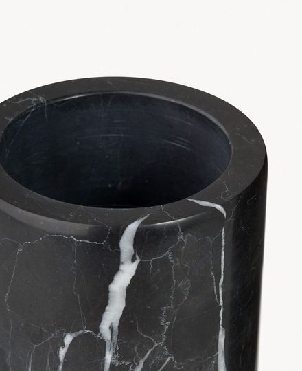 Dedaine Toothbrush Holder Black Marble