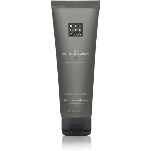 The Ritual of Samurai Face Charcoal Scrub