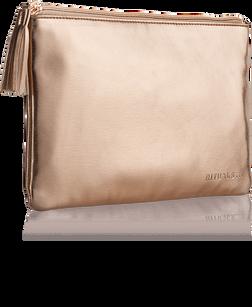 Make Up Bag - Metallic Rose