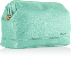 Luxury Travel Bag For Her - Turquoise
