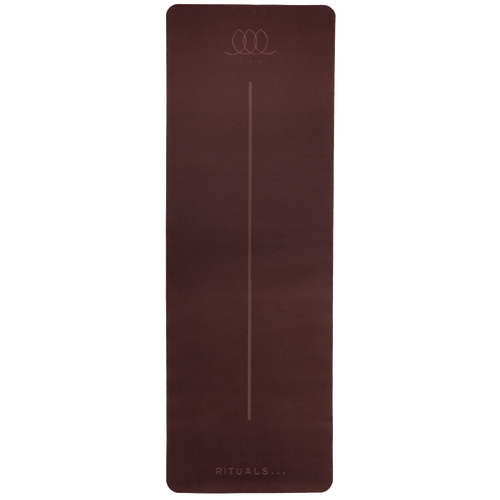 Yoga mat - Berry red