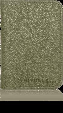Passport Holder - Olive Green