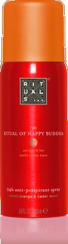 The Ritual of Happy Buddha Anti-Perspirant Spray