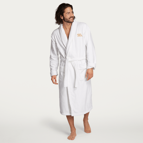 Mr Bathrobe - White - L