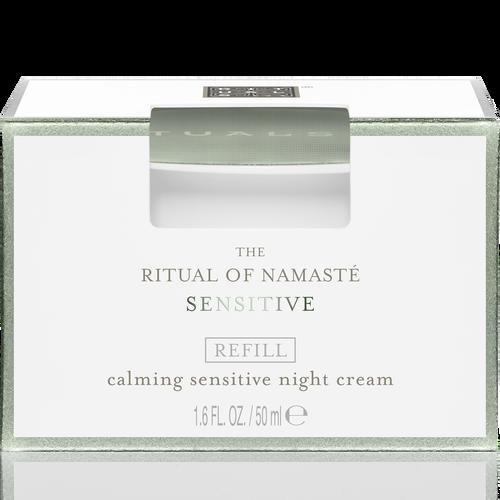 The Ritual of Namaste Calming Sensitive Night Cream Refill