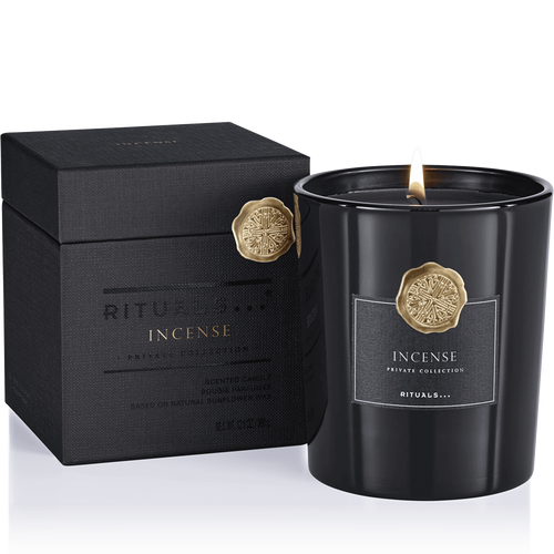 Incense Scented Candle