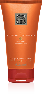 The Ritual of Happy Buddha Shower Scrub