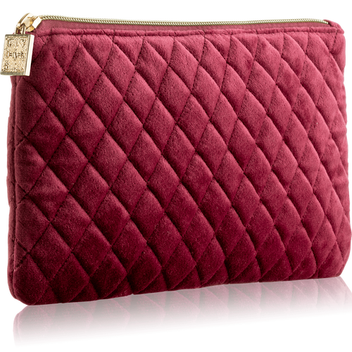Make Up Bag - Velvet Burgundy