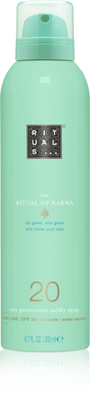 The Ritual of Karma Sun Protection Milky Spray 20