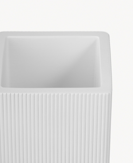 Acora Toothbrush Holder White