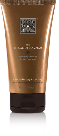 The Ritual of Hammam Black Soap