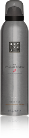 The Ritual of Samurai Foaming Shower Gel Sport