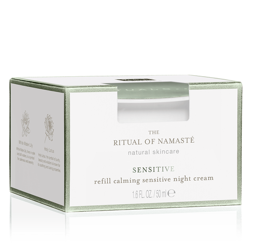 The Ritual of Namaste Calming Sensitive Night Cream Refill