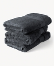 Super Smooth Bamboo Cotton Hand Towel 50x100cm Charcoal Grey
