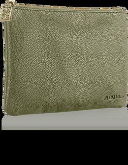 Make Up Bag - Olive Green 9890fe687eb