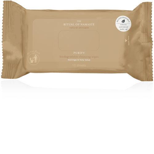 The Ritual of Namasté Miracle Wipes - Travel