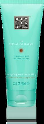The Ritual of Karma Hand Lotion SPF 15