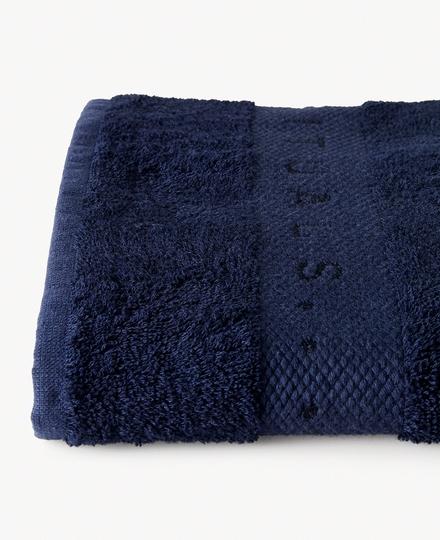Super Smooth Bamboo Cotton Bath Towel 70x140cm China Blue