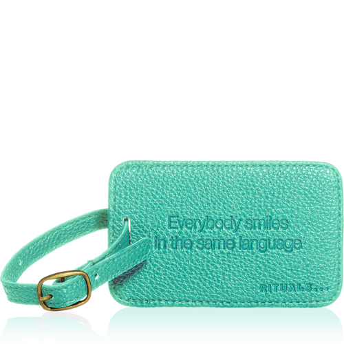Travel Hang Tag - Turquoise