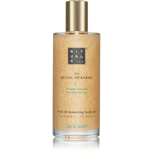 The Ritual of Karma Body Shimmer Oil